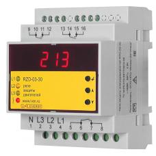 Реле защиты электродвигателя RZD-03-30